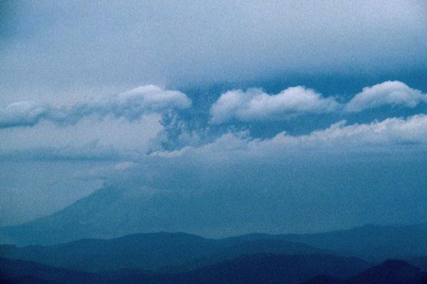 Mount St Helens Volcanic Eruption Eruption Outbreak SYMSPAD Mouse Pad 8.6 X 7.1 in